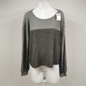 Hollister Extra Soft Pullover Open Back Top